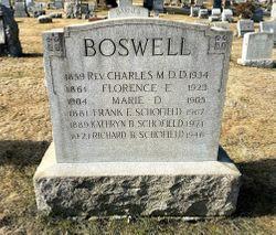 Rev Charles Martin Boswell