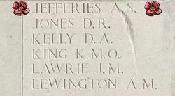 Flt Sgt Alec Samuel Jefferies