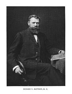 Dr Richard Vanselous Mattison