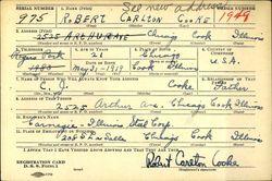 Corp Robert Carleton Cooke