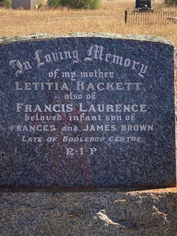 Letitia Hackett