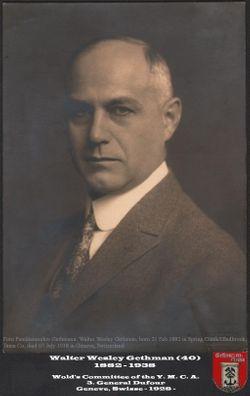 Walter Wesley Gethmann