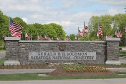 Gerald B.H. Solomon Saratoga National Cemetery
