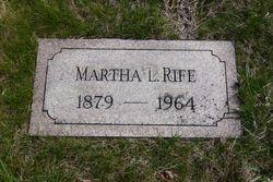 Martha Lovelle <I>Peterson</I> Rife